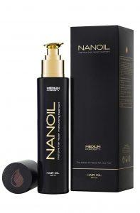 Olejek do włosów Nanoil - najlepszy do pielęgnacji włosów