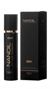 Olejek do włosów Nanoil - najlepszy do pielęgnacji